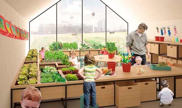 enseñar agricultura Portada
