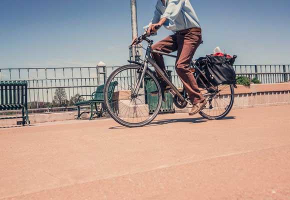 guía para vagos ir en bici