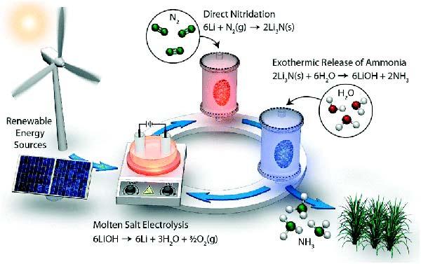síntesis de amoníaco Figura 1