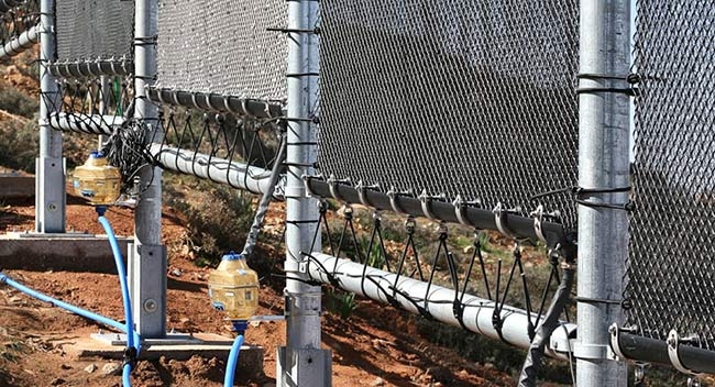 agua del aire filtrado agua de paneles