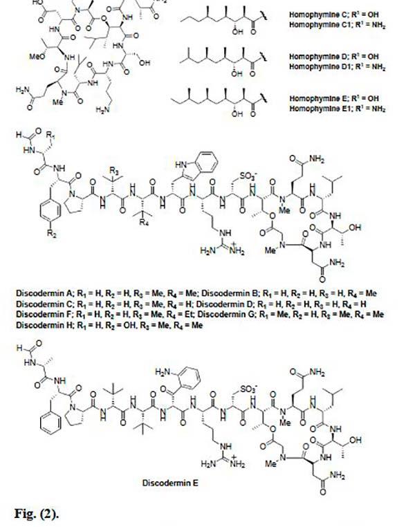 péptidos marinos Figura 2
