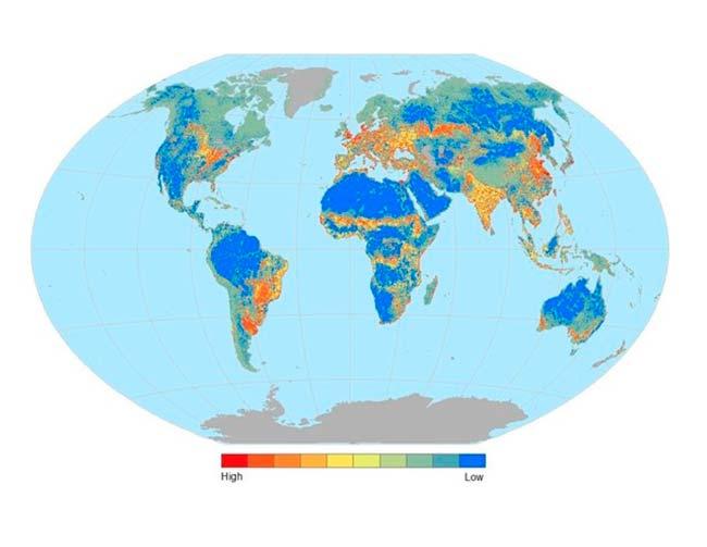 mapamindi fragmentación hábitats