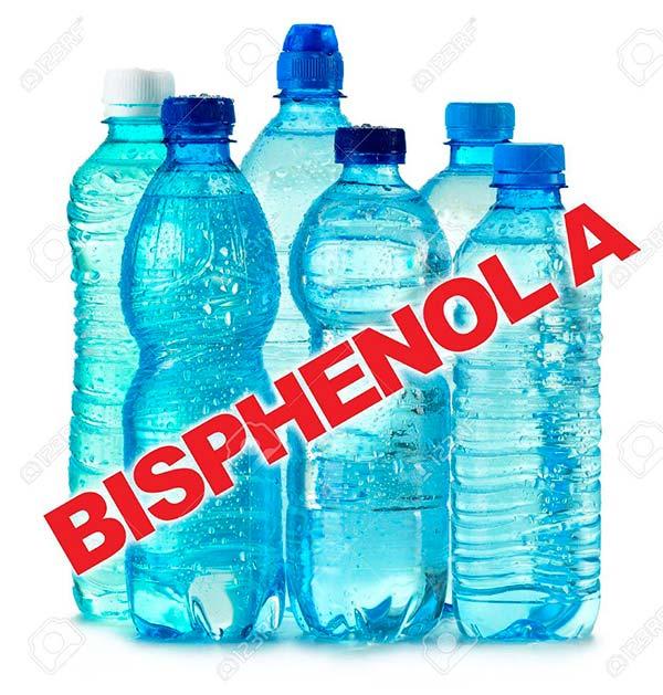 botella agua BPA
