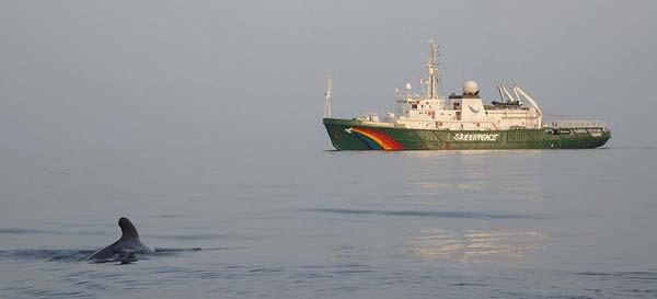 barco Esperanza Greenpeace