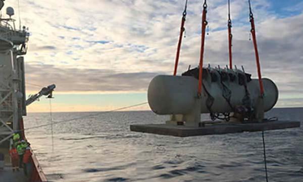 montaje generador submarino