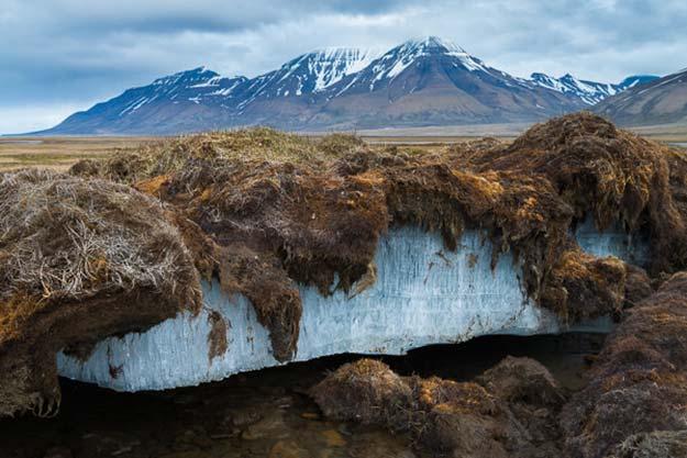hielo permafrost