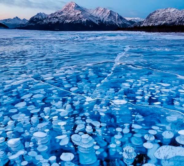 metano bajo hielo