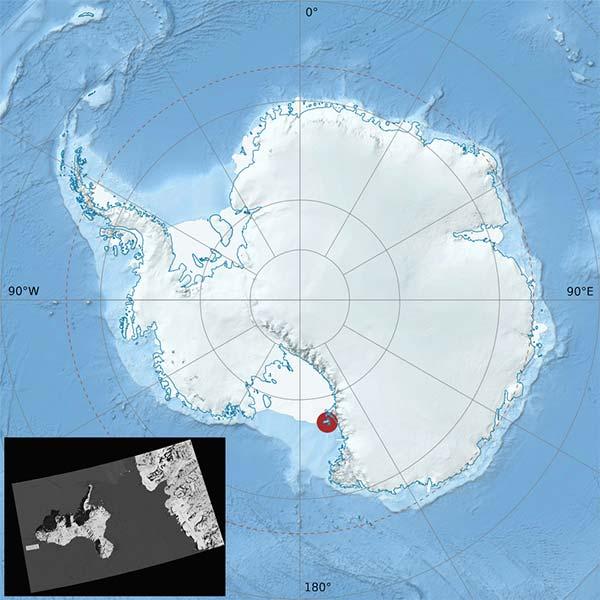glaciar Taylor Antártida