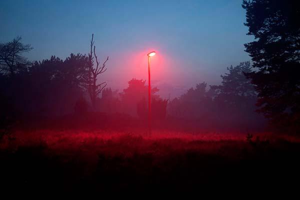 prueba efecto luz roja