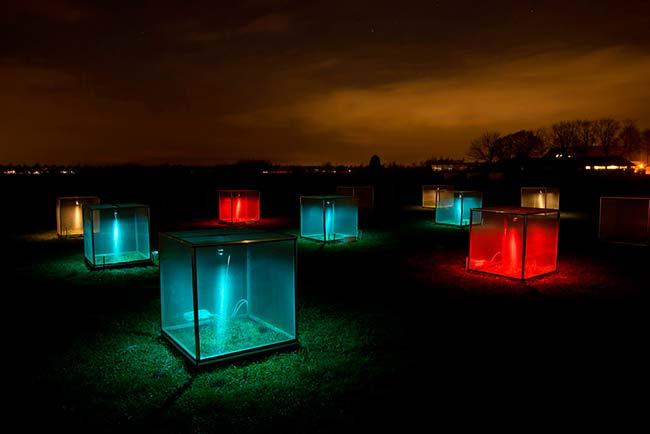 estudio contaminación lumínica Países Bajos