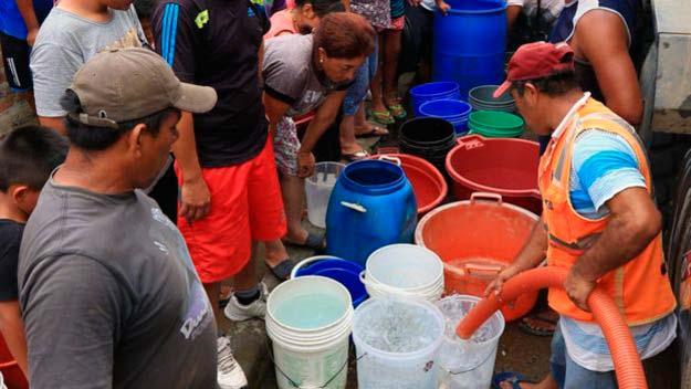 obtención de agua potable