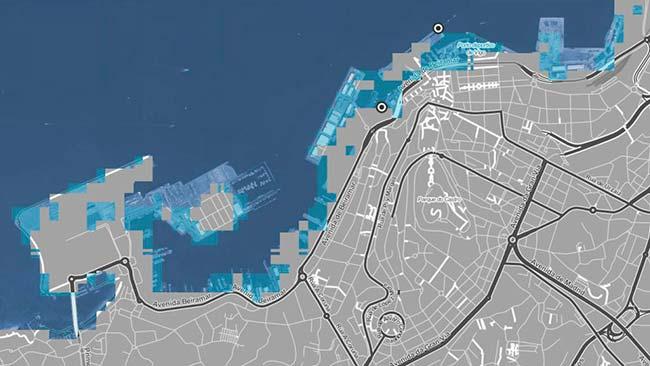 cambio climático puerto de Vigo