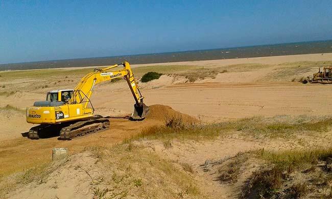 degradación de dunas