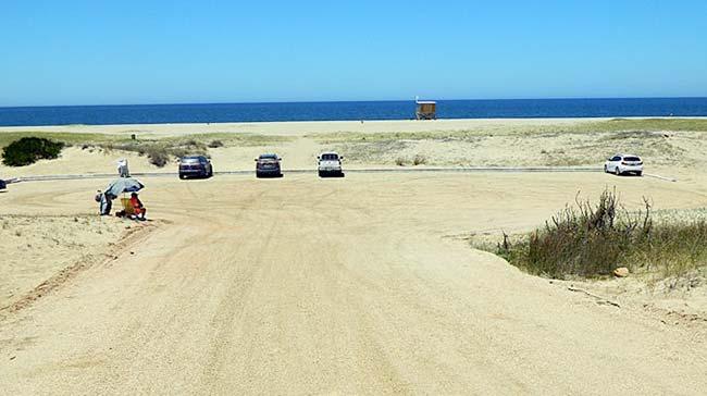 degradación de sistemas dunares