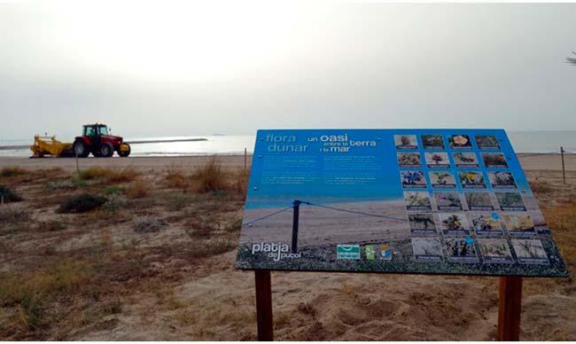 información en dunas