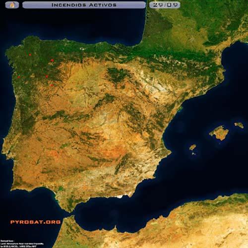 mapa Pyrosat