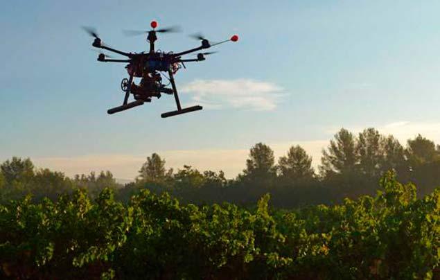 dron vigilancia incendio