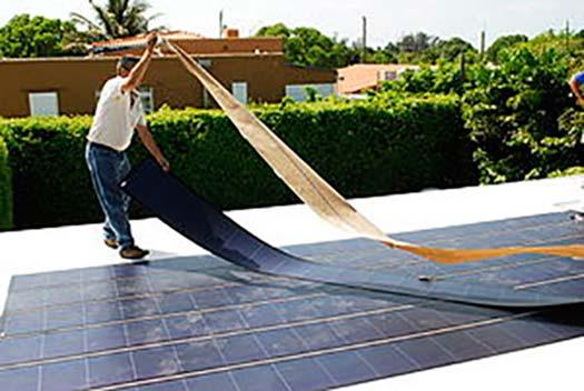paneles solares de capa fina