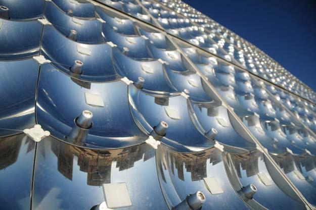 paneles solares de concentracion