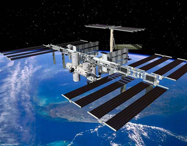 uso energia solar en espacio