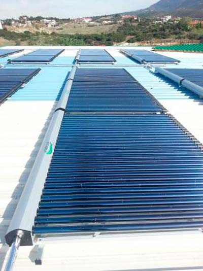 captadores solares tubo de vacio