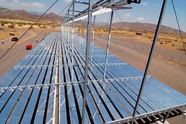 paneles solares termicos fresnel