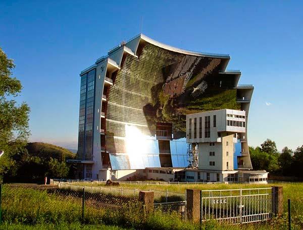 horno solar termico