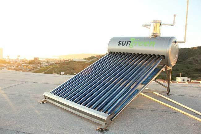 kit colector solar tubos de vacio