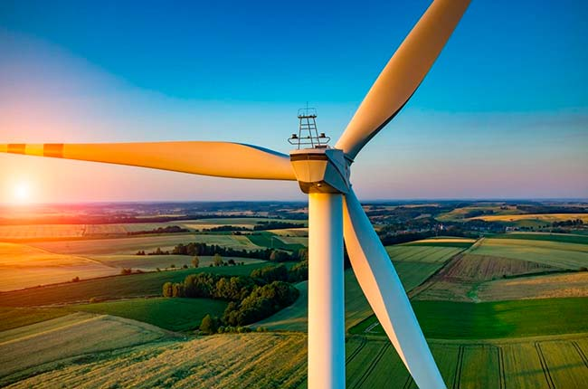 turbina aerogenerador