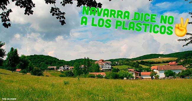 Navarra contra el uso del plastico