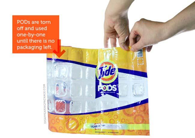 alternativa uso del plastico Tide