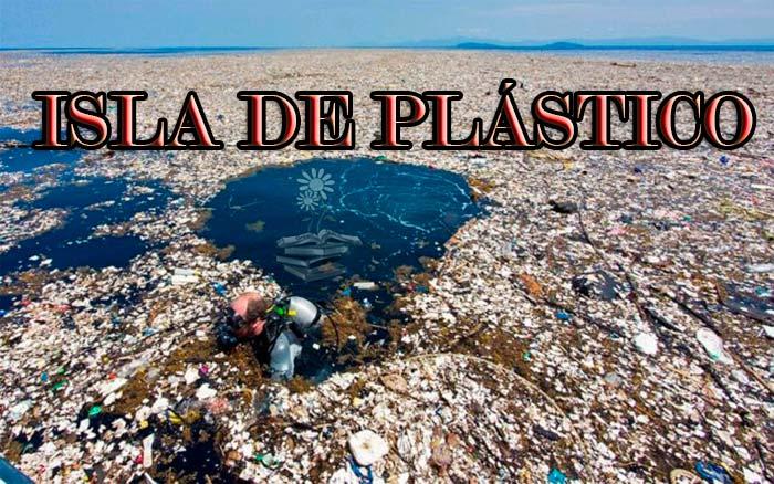 isla de plastico Portada