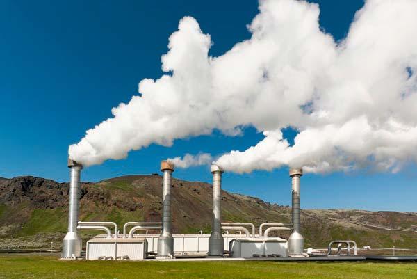 planta de energia geotermica