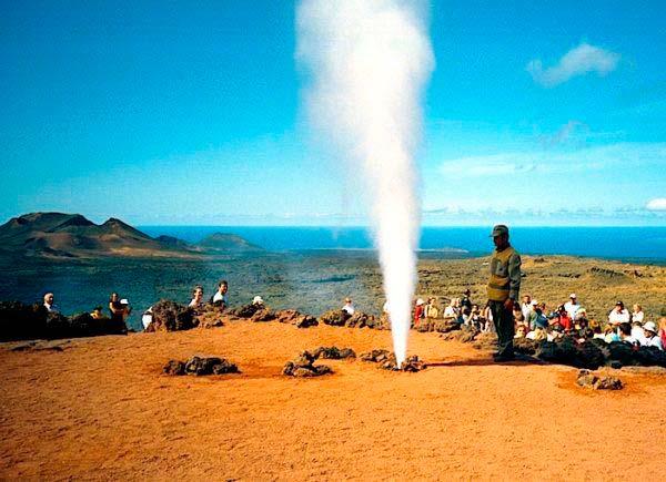 energia geotermica Timanfaya
