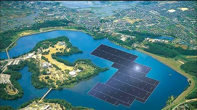 planta solar flotate mas grande del mundo