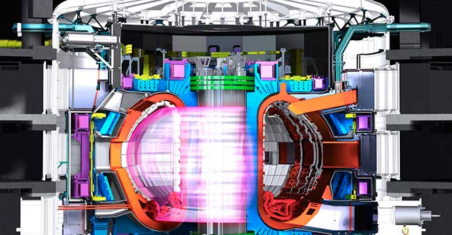 reactor ITER energia nuclear fusion