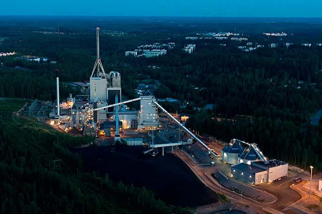 planta de biomasa Finlandia