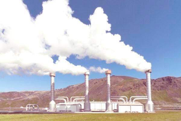 central o planta geotermica