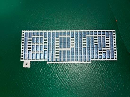 planta solar flotante embalse Colombia