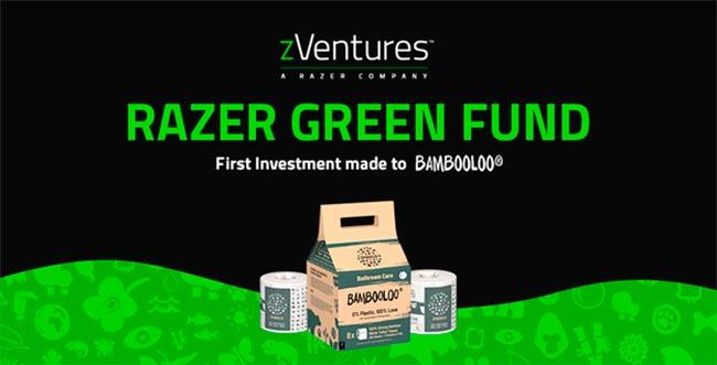 Fondo Verde Razer Dia de la Tierra 2021