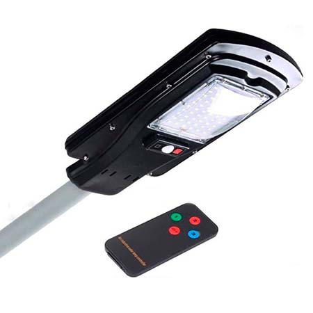lampara foco LED solar