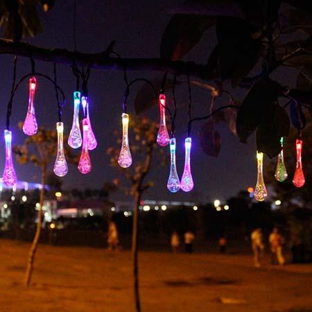 lamparas solares decorativas LED