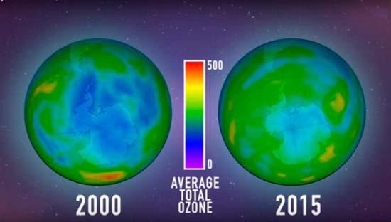 imagenes de la capa de ozono