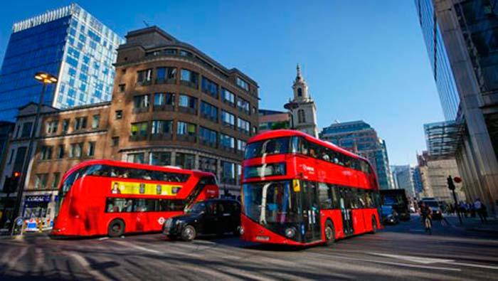 Posos de café como combustible para los autobuses de Londres