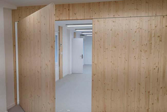 maderas de abeto Escola Decroly