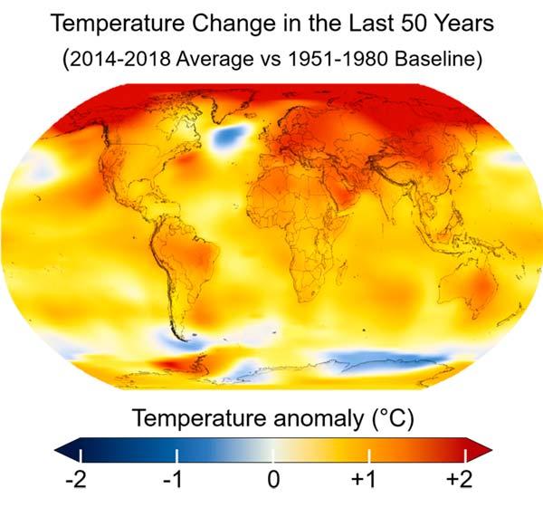 calentamiento global definicion