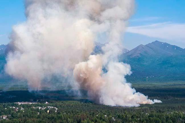 incendios en Alaska