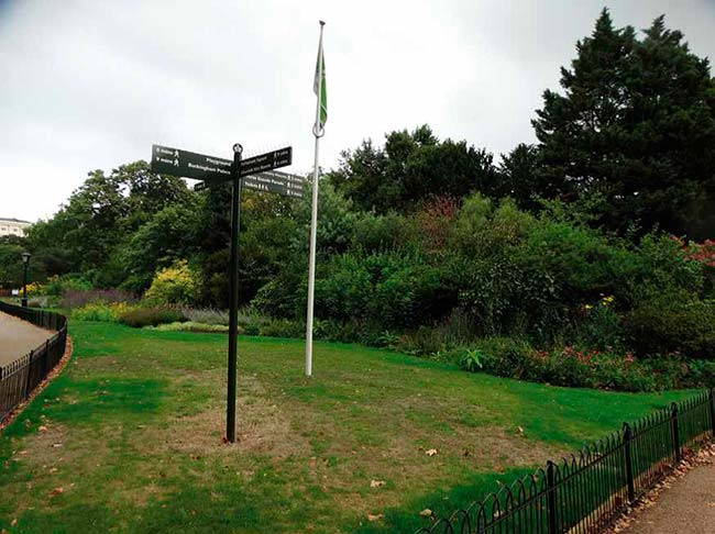diversidad estructural en parque de Londres