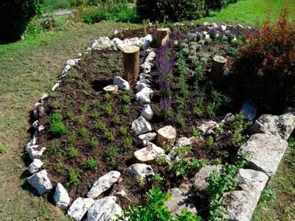 jardin para polinizadores