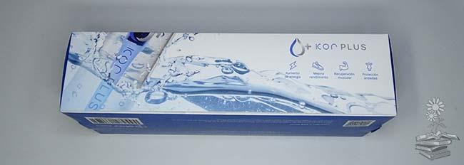 lateral caja botella de agua KOR +